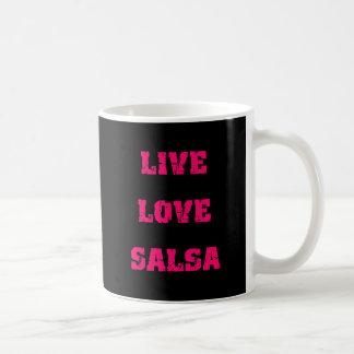 Het dansen van Salsa Koffiemok