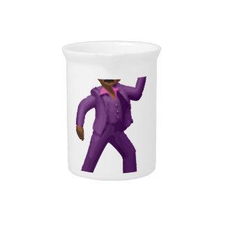 Het Dansende Man van Emoji Drank Pitcher