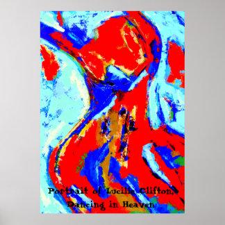 Het dansende Poster van de Vrouw