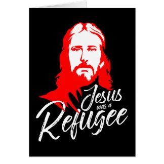 Het Dark Wenskaart van Jesus