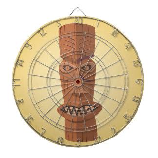 Het Dartboard van de Kooi van het Metaal van Tiki Dartbord