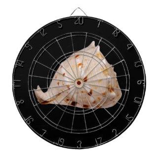 Het Dartboard van Shell van de kroonslak Dartbord