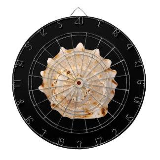 Het Dartboard van Shell van de kroonslak Dartborden