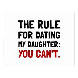 Het dateren van de Regel van de Dochter Briefkaart