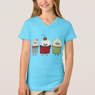 Het de familiesuikerglazuur van Cupcake bestrooit T Shirt