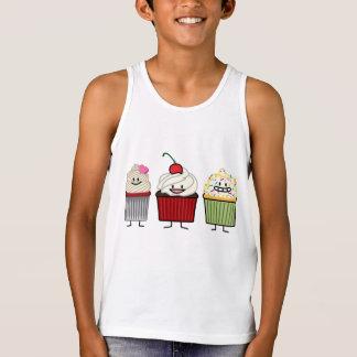 Het de familiesuikerglazuur van Cupcake bestrooit Tanktop