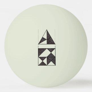 Het de grafische Driehoeken en Vierkant van de Pingpongballetjes