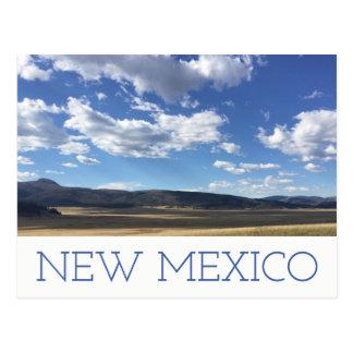 Het de Heldere Blauwe Hemel van New Mexico & Briefkaart