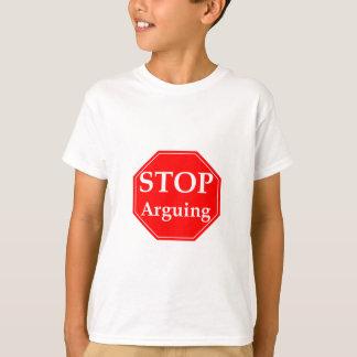 Het Debatteren van het einde T Shirt