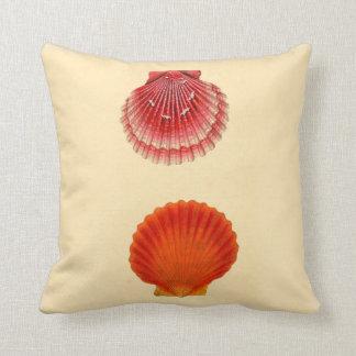 Het Decor van het Huis van het strand werpt Shells Sierkussen