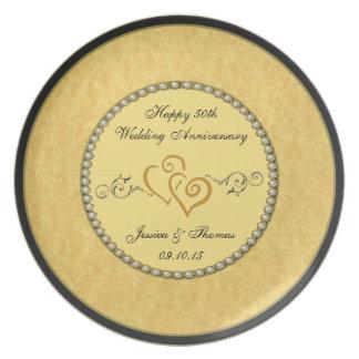 het Decoratieve Bord van het 50ste Jubileum van de