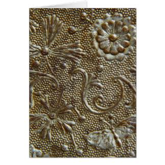 Het Decoratieve Vormen van de antiek Boomstam Briefkaarten 0