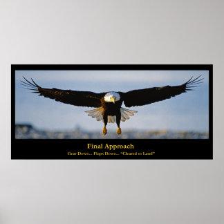 Het definitieve Poster van de Douane van Eagle van