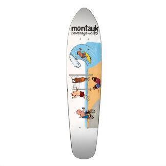Het Dek van BeverageWorks Longboard van Montauk Skateboard