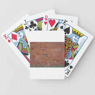 """""""Het dek Van de Bakstenen muur"""" van de genealogie  Poker Kaarten"""