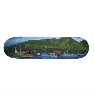 Het Dek van de Haven van Lahaina Skateboard