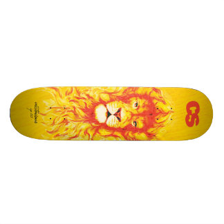 Het Dek van de Leeuw van Cs Skateboard
