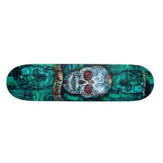 Het Dek van de Schedel van de Kunst van morris van 20,6 Cm Skateboard Deck