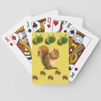 Het Dek van de Speelkaart van de eekhoorn Speelkaarten