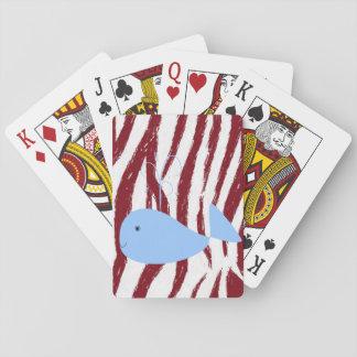Het Dek van de Speelkaart van de walvis Speelkaarten