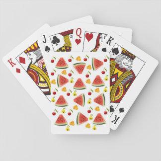 Het Dek van de Speelkaart van de watermeloen Speelkaarten