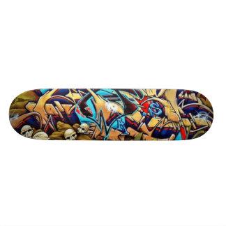 Het Dek van Graff van de schedel Persoonlijk Skateboard