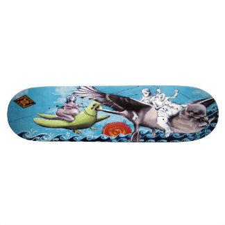 Het Dek van het Schaats Los Pescadores DE Nuebes - 21,6 Cm Skateboard Deck