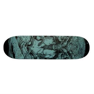 Het Dek van het Schaats van Baphomet 19,7 Cm Skateboard Deck