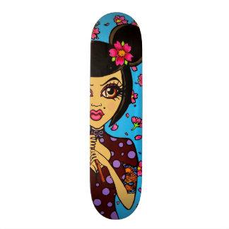Het Dek van het Schaats van Skinderella Skateboard Deck