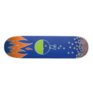 Het Dek van het Skateboard van de Vlammen van de b