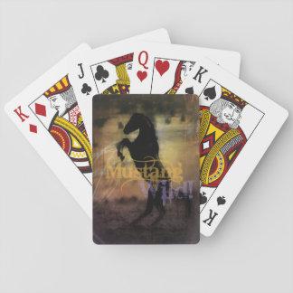 Het Dek van MustangWILD van Speelkaarten