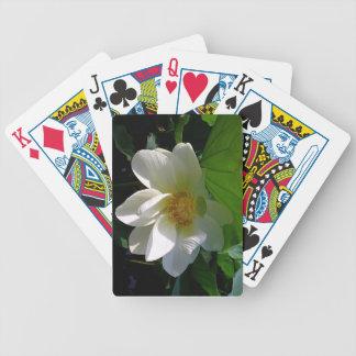 Het Dek van speelkaarten met de gevoelige Bloem Bicycle Speelkaarten