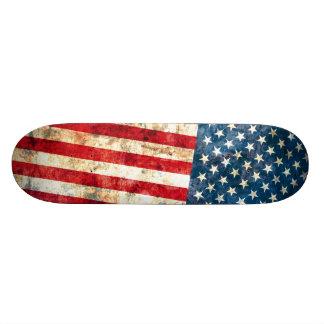 Het Dek van sterren & van Strepen Skateboard Deck