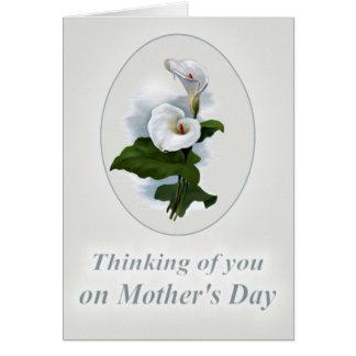 Het denken aan u Moederdag, Verlies van een Moeder Briefkaarten 0