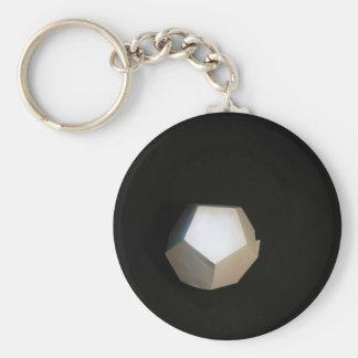 Het denken buiten Dodecahedron Sleutelhanger