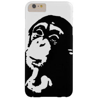 Het Denken van het pop-art Chimpansee Barely There iPhone 6 Plus Hoesje