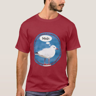 Het denken van het Witte Blauwe Zee Yokohama Meh T Shirt