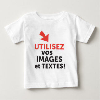 Het design Engelse ligne DIY Engelse Français van Baby T Shirts