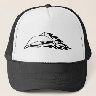 Het design van de dolfijn trucker pet
