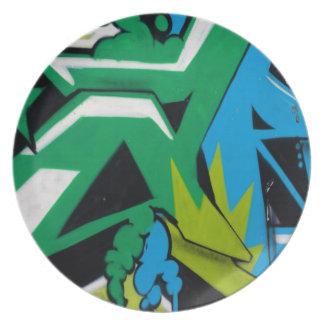 het Design van de graffitiKunst Borden