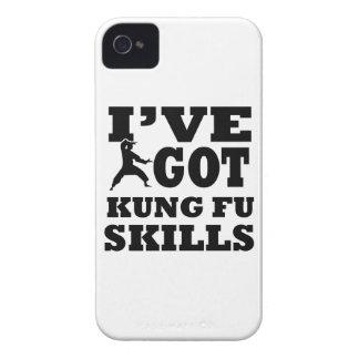 Het design van de Vechtsporten van Kungfu iPhone 4 Hoesje