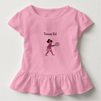 Het Design ™ van de Vissen van Flopping Kinder Shirts