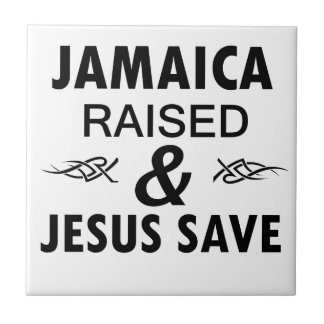 Het design van Jamaïca Tegeltje