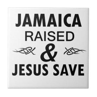 Het design van Jamaïca Tegeltje Vierkant Small