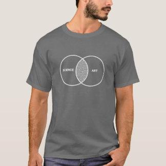 Het Diagram van Venn van de wetenschap/van de T Shirt