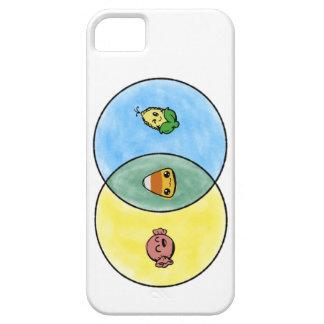 Het Diagram van Venn van het Graan van het snoep Barely There iPhone 5 Hoesje