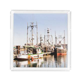 Het Dienende Dienblad van de Vissersboot