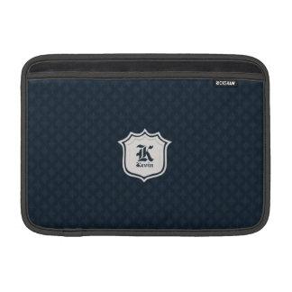 Het diepe Klassieke Monogram van de Douane van de Beschermhoezen Voor MacBook Air