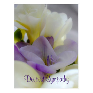 Het diepste Briefkaart van de Sympathie