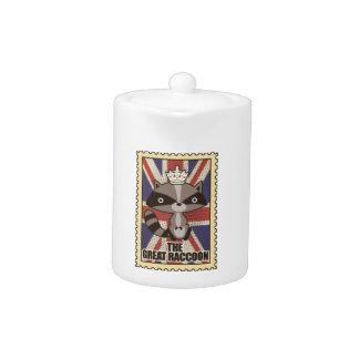 Het Dier van de Wasbeer GB van Groot-Brittannië